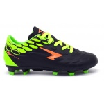 SFIDA Stealth FG Kids Football Boot - BLACK/LIME SFIDA Stealth FG Kids Football Boot - BLACK/LIME