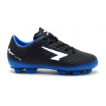 SFIDA Sting FG Kids Football Boot - BLACK/BLUE SFIDA Sting FG Kids Football Boot - BLACK/BLUE
