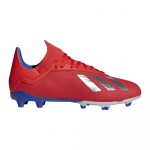 adidas X 18.3 FG Kids Football Boot - active red/silver met./bold blue adidas X 18.3 FG Kids Football Boot - active red/silver met./bold blue