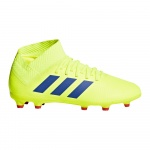 adidas NEMEZIZ 18.3 FG Kids Football Boot - solar yellow/football blue/active red adidas NEMEZIZ 18.3 FG Kids Football Boot - solar yellow/football blue/active red
