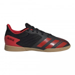 adidas PREDATOR 20.4 SALA Kids Indoor Football Boot - Core Black/Active Red/Core Black adidas PREDATOR 20.4 SALA Kids Indoor Football Boot - Core Black/Active Red/Core Black