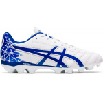 ASICS Lethal Tigreor IT GS Kids Football Boot - WHITE/ASICS BLUE ASICS Lethal Tigreor IT GS Kids Football Boot - WHITE/ASICS BLUE