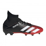 adidas PREDATOR 20.3 FG Kids Football Boot - Core Black/FTWR White/Core Black