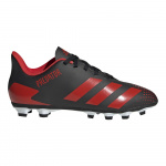 adidas PREDATOR 20.4 FxG Kids Football Boot - Core Black/Active Red/Core Black adidas PREDATOR 20.4 FxG Kids Football Boot - Core Black/Active Red/Core Black