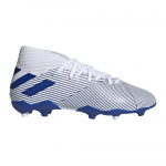 adidas NEMEZIZ 19.3 FG Kids Football Boot - FTWR White/Team Royal Blue/Team Royal Blue adidas NEMEZIZ 19.3 FG Kids Football Boot - FTWR White/Team Royal Blue/Team Royal Blue