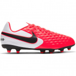 Nike Tiempo Legend 8 Club MG Kids Football Boot - LASER CRIMSON/BLACK-WHITE Nike Tiempo Legend 8 Club MG Kids Football Boot - LASER CRIMSON/BLACK-WHITE