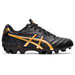 ASICS Lethal Tigreor IT 2 GS Kids Football Boot - Black/Pure Gold ASICS Lethal Tigreor IT 2 GS Kids Football Boot - Black/Pure Gold