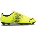 PUMA Tacto FG/AG Kids Football Boot - Yellow Alert/Puma Black PUMA Tacto FG/AG Kids Football Boot - Yellow Alert/Puma Black