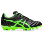 ASICS Lethal Flash IT GS Kids Football Boot - Black/Green Gecko ASICS Lethal Flash IT GS Kids Football Boot - Black/Green Gecko