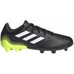 Adidas COPA SENSE.3 FG Kids Football Boot - Core Black/FTWR White/Solar Yellow Adidas COPA SENSE.3 FG Kids Football Boot - Core Black/FTWR White/Solar Yellow