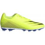 Adidas X GHOSTED.4 FxG Kids Football Boot - Solar Yellow/Core Black/Team Royal Blue Adidas X GHOSTED.4 FxG Kids Football Boot - Solar Yellow/Core Black/Team Royal Blue