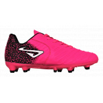 NOMIS TEMPO FG Kids Football Boot - Pink/Black NOMIS TEMPO FG Kids Football Boot - Pink/Black