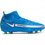 Nike Phantom GT Club DF Kids Football Boot - PHOTO BLUE/METALLIC SILVER Nike Phantom GT Club DF Kids Football Boot - PHOTO BLUE/METALLIC SILVER