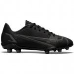 Nike Mercurial Vapor 14 Clube FG Kids Football Boot - BLACK/BLACK-IRON GREY Nike Mercurial Vapor 14 Clube FG Kids Football Boot - BLACK/BLACK-IRON GREY