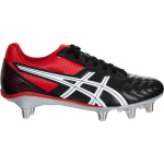 Asics Lethal Tackle Adults Rugby Boot - Black/Racing Red/White Asics Lethal Tackle Adults Rugby Boot - Black/Racing Red/White