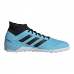 Adidas Predator Tango 19.3 Adults Indoor Football Boot-bright cyan/core black/solar yellow-aug19 Adidas Predator Tango 19.3 Adults Indoor Football Boot-bright cyan/core black/solar yellow-aug19
