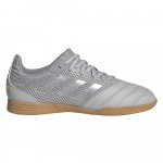 Adidas COPA 20.3 SALA Kids Indoor Football Boot - GREY TWO/Matte Silver/GREY THREE Adidas COPA 20.3 SALA Kids Indoor Football Boot - GREY TWO/Matte Silver/GREY THREE