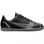 Nike Mercurial Vapor 14 IC Kids Indoor Football Boot - BLACK/BLACK-IRON GREY Nike Mercurial Vapor 14 IC Kids Indoor Football Boot - BLACK/BLACK-IRON GREY