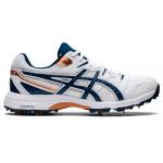 ASICS GEL-Gully 6 Adults Cricket Shoe - WHITE/MAKO BLUE ASICS GEL-Gully 6 Adults Cricket Shoe - WHITE/MAKO BLUE