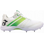 Kookaburra Pro 2.0 Spike Adults Cricket Shoe - WHITE/LIME Kookaburra Pro 2.0 Spike Adults Cricket Shoe - WHITE/LIME