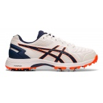 Asics GEL-300 Not Out Adults Cricket Shoe - WHITE/BLUE EXPANSE Asics GEL-300 Not Out Adults Cricket Shoe - WHITE/BLUE EXPANSE