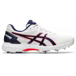 ASICS 350 Not Out FF Adults Cricket Shoe - White/Peacoat ASICS 350 Not Out FF Adults Cricket Shoe - White/Peacoat