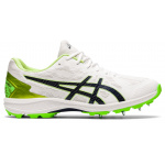 ASICS Strike Rate FF Adults Cricket Shoe - WHITE/PEACOAT ASICS Strike Rate FF Adults Cricket Shoe - WHITE/PEACOAT