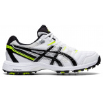 ASICS GEL-Gully 6 Adults Cricket Shoe - WHITE/BLACK ASICS GEL-Gully 6 Adults Cricket Shoe - WHITE/BLACK