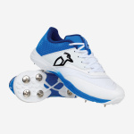 Kookaburra Pro 2.0 Spike Cricket Shoe - WHITE/BLUE Kookaburra Pro 2.0 Spike Cricket Shoe - WHITE/BLUE