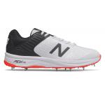 New Balance CK4030v4 2E WIDE Mens Cricket Shoe - WHITE/RED New Balance CK4030v4 2E WIDE Mens Cricket Shoe - WHITE/RED