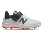 New Balance CK4040v5 Mens Cricket Shoe - White/Red New Balance CK4040v5 Mens Cricket Shoe - White/Red