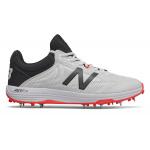 New Balance CK10v4 D Mens Cricket Shoe - White/Red New Balance CK10v4 D Mens Cricket Shoe - White/Red