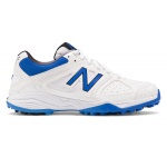 New Balance KC4020 UY M Kids Cricket Shoe - White/Blue New Balance KC4020 UY M Kids Cricket Shoe - White/Blue