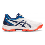 ASICS GEL-Peake 5 GS Kids Cricket Shoe - WHITE/BLUE EXPANSE ASICS GEL-Peake 5 GS Kids Cricket Shoe - WHITE/BLUE EXPANSE