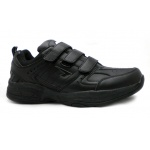 SFIDA Defy Leather VELCRO Men's Cross Training Shoe - BLACK SFIDA Defy Leather VELCRO Men's Cross Training Shoe - BLACK
