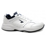 SFIDA Defy Leather Men's Cross Training Shoe - White/Navy SFIDA Defy Leather Men's Cross Training Shoe - White/Navy