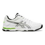 Asics GEL-540TR Leather 2E WIDE Men's Cross Training Shoe - WHITE/SILVER Asics GEL-540TR Leather 2E WIDE Men's Cross Training Shoe - WHITE/SILVER