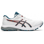 ASICS GT-1000 Leather 2E WIDE Mens Cross Training - WHITE/MAGNETIC BLUE ASICS GT-1000 Leather 2E WIDE Mens Cross Training - WHITE/MAGNETIC BLUE
