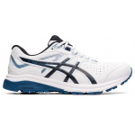 ASICS GT-1000 Leather 2E WIDE Mens Cross Training Shoe - White/Grand Shark ASICS GT-1000 Leather 2E WIDE Mens Cross Training Shoe - White/Grand Shark