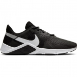 Nike Legend Essential 2 Mens Cross Training Shoe - BLACK/WHITE-METALLIC SILVER Nike Legend Essential 2 Mens Cross Training Shoe - BLACK/WHITE-METALLIC SILVER