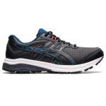 ASICS GT-1000 Leather 2E WIDE Mens Cross Training Shoe - Black/Grand Shark ASICS GT-1000 Leather 2E WIDE Mens Cross Training Shoe - Black/Grand Shark