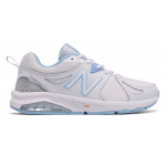 New Balance 857v2 WB D WIDE Women's Cross Training Shoe - WHITE/BLUE New Balance 857v2 WB D WIDE Women's Cross Training Shoe - WHITE/BLUE