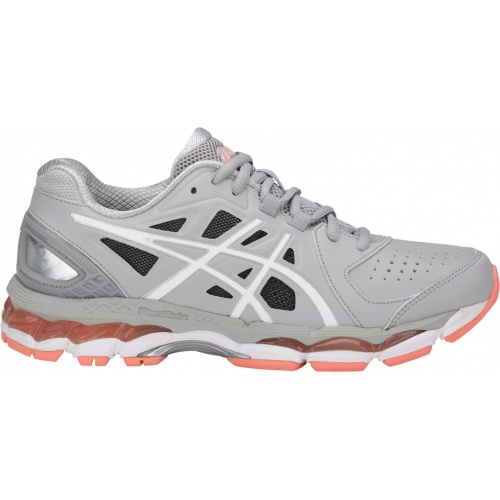 Asics GEL-800XTR Women's Cross Training Shoe - Mid Grey/White/Begonia Pink