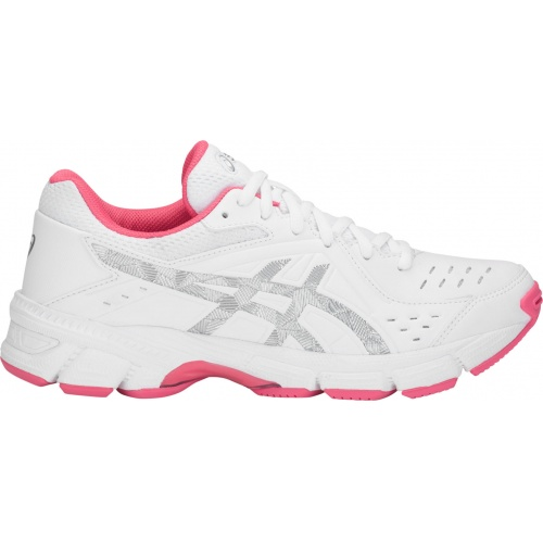 284cb1fcc7f Asics GEL-195TR D WIDE Women s Cross Training Shoe - White Silver ...