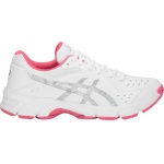 Asics GEL-195TR D WIDE Women's Cross Training Shoe - White/Silver Asics GEL-195TR D WIDE Women's Cross Training Shoe - White/Silver