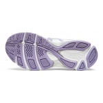 Image 3: Asics GEL-195TR D WIDE Women's Cross Training Shoe - WHITE/ASH ROCK