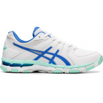 Asics GEL-540TR Leather D WIDE Women's Cross Training Shoe - WHITE/BLUE COAST Asics GEL-540TR Leather D WIDE Women's Cross Training Shoe - WHITE/BLUE COAST