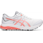 ASICS GT-1000 Leather D WIDE Womens Cross Training Shoe - WHITE/GUAVA ASICS GT-1000 Leather D WIDE Womens Cross Training Shoe - WHITE/GUAVA