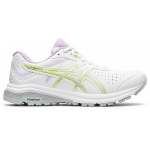 ASICS GT-1000 Leather D WIDE Womens Cross Training Shoe - WHITE/PURE SILVER ASICS GT-1000 Leather D WIDE Womens Cross Training Shoe - WHITE/PURE SILVER