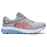 ASICS GT-1000 Leather D WIDE Womens Cross Training Shoe - Piedmont Grey/Sun Coral ASICS GT-1000 Leather D WIDE Womens Cross Training Shoe - Piedmont Grey/Sun Coral